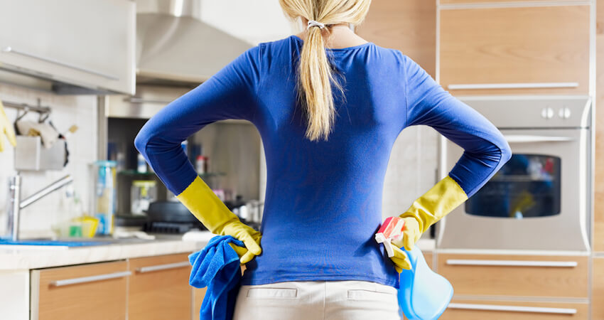 Clever Kitchen Cleaning Tips